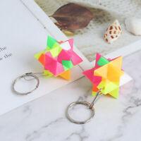 2Pcs Mini Keychain Magic Cube Puzzle Learning Educational Toys For Child_QA