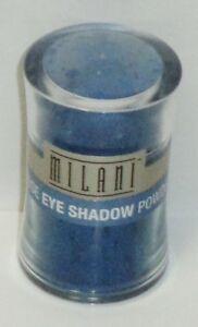 1 MILANI Loose Eye Shimmer Powder Eye Shadow With Brush MISTY BLUE #08 Sealed