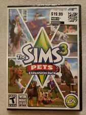 The Sims 3: Pets Expansion Pack PC-DVD, Physical Disc New Sealed