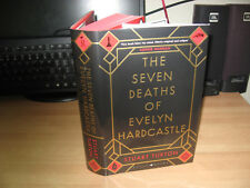 Stuart Turton Seven Deaths of Evelyn Hardcastle Signed numbered 1st debut murder