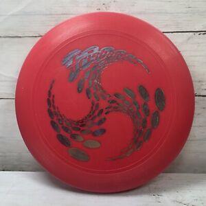 "Vintage Red WHAM-O Frisbee 1998 9"" Disc"
