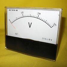 Volt Meter 300V AC Analog Voltmeter 240V Voltage Panel Display Generator 59L1