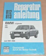 BMW 518 518 i E28 5er ab 1981 4 Zylinder Motor Bremsen Reparaturanleitung B812