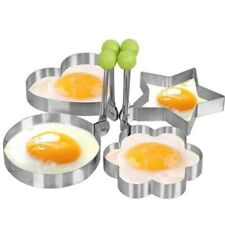 Pancake Maker Mold Creative Four Shapes Stainless Steel Fried Egg Utensil Tools