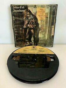 Jethro Tull  Aqualung  3 ¾ IPS Reel to Reel Tape with Box