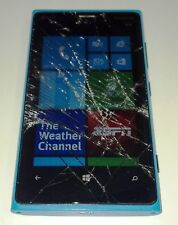 Nokia Lumia 920 - 32GB - Blue (AT&T) Smartphone - Cracked Glass