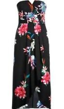 City Chic Size 14-16 (XS) Succulent Faux Wrap Maxi Dress NWT