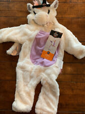 Halloween Costume Plush Unicorn Baby Infant 0-6 Months Hyde and EEK! Jumpsuit