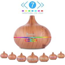 500ML Essential Oil Aroma Diffuser Ultrasonic Humidifier Approx LED Lights
