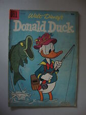 Donald Duck #54 G Lets Go Fishing