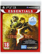 PS3 Resident Evil 5 Gold Move Nuevo Precintado Pal España