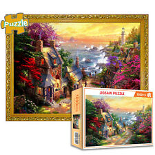 Cottage Jigsaw Puzzle 1000 Piece Puzzles Adults Kid Learning Education Game Toy