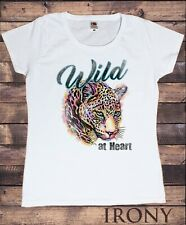 Women's T-Shirt Tiger Wild At Heart- Free Spirit Print TS1682