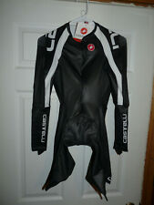 Castelli Men's Cycling BP 3.0 Speed Suit Long Sleeve Black XL NEW