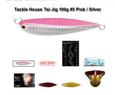 TACKLE HOUSE Tai Jig 100g / 80mm #5/ 1 x pk DECOY DJ-88 /1/0 assist hooks as pic