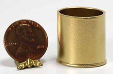 Dollhouse Miniature Gold Waste Paper Basket