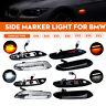 Pair LED Side Marker Light Repeater Indicator Lamps For BMW E46 E60 E81 E82 E90