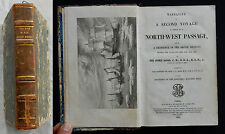 W/ Narrative of a second voyage..NORTH-WEST PASSAGE Sir John Ross 1835 (Gravures