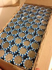 lot of 5 Unsearched Jefferson Nickel Rolls ($10) Circulated Coins Bank Rolled