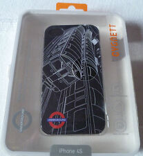 Cygnett TFL Tube Train PC Case for iPhone 4S + Screen Protector (1st class p+p)