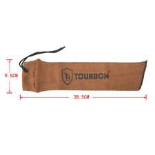 Tourbon Pistol Sock Silicone Treated Cover Handgun Sleeve Gun Slip Hunting in US