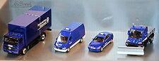 THW Juego De 4 Mercedes-Benz Sprinter U 300 Unimog Atego Carrocería 1:87