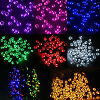 60/100/200LED Solar Power String Fairy Lights Outdoor XMAS Party Lamp Waterproof