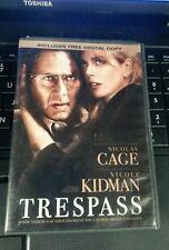 Trespass (DVD, 2011) Nicholas cage, Nicole Kidman, Joel Shumacher