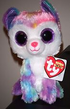 """Ty Beanie Boos ~ IZABELLA the 6"""" Husky Dog ~ CLAIRE'S EXCLUSIVE ~ NEW"""