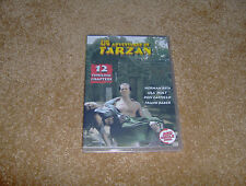 THE NEW ADVENTURES OF TARZAN CLIFFHANGER SERIAL 12 CHAPTERS 2 DVDS