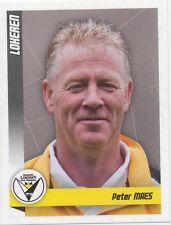 N°294 PETER MAES # BELGIQUE SPORTING LOKEREN STICKER PANINI FOOTBALL 2011