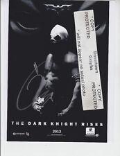 Tom Hardy - BATMAN Dark Knight Rises - signed 8x10 COA GAI