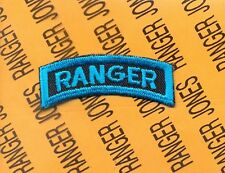 US Army RANGER ODD Colored Teal ROTC ? Airborne Para C/E tab arc patch