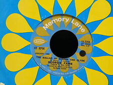 GEORGIE FAME The ballad of Bonnie and Clyde 15-2298