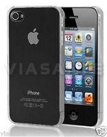 Cover Bumper Custodia Per iPhone 5S 5 Trasparente Crystal Rigida Slim Protettiva