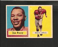 1957 Topps # 129 Joe Perry