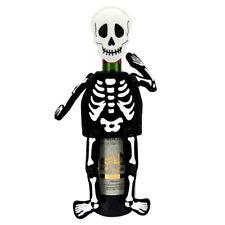 Skeleton Skull Plush Figure Halloween Party Wine Bottle Bag Cover Decor Gift