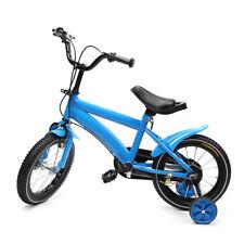 14 Zoll Unisex Jungenfahrrad Kinderfahrrad mit Rücktritt Stützräder kids bike
