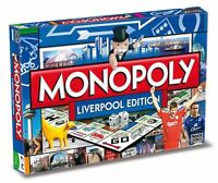 Original Monopoly Liverpool englisch Gesellschaftsspiel Brettspiel Spiel NEU