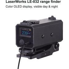 LE032 Mini Laser Range Finder Riflescope Sight Rifle Rangefinder Hunting 700M