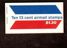 Stamp # C79 AIRMAIL Winged Letter Full Booklet of 10 X 13 cent Air Mail 1971