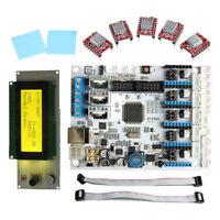 Geeetech LCD 2004+5pcs A4988 Driver+GT2560 A+ Montrol Motherboard 3D Printer Kit