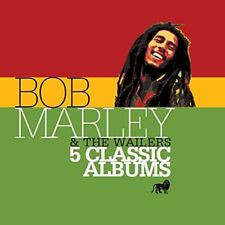 BOB MARLEY & THE WAILERS - 5 CLASSIC ALBUMS 5 CD NEUF