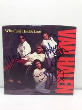 Signed VAN HALEN  Why Can't This Be Love  45 RPM  Record