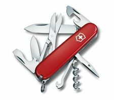 Victorinox Climber Swiss Army Knife Red Handle Plain Edge 14 Tools 53381