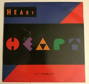 """Heart  - """"All I Wanna Do Is Make Love To You""""  7"""" vinyl (1990) VG+ /  LOG8"""