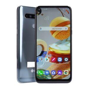 LG K61 Dual-SIM 128GB Titan Smartphone Kundenretoure wie neu