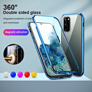 Pour Samsung Galaxy S20 Ultra S10 Lite S9+ S8 Coque de protection antichoc 360°