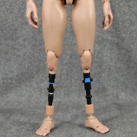 2PCS 1/6 Prothèse de Jambe Artificielle en Plastique Alliage Accessoires pour