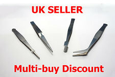 Tweezers Set 4pc- Model Tools - Stamp Collect - Crafting - Hobby - Jewellery